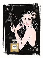 Girl in Paris Fine Art Print
