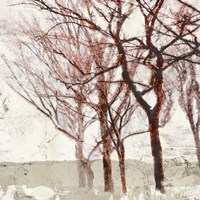 Rusty Trees II Fine Art Print