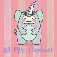 Li'l Elephant Fine Art Print