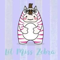 Li'l Zebra Fine Art Print