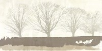 Tree Lines Neutral Fine Art Print