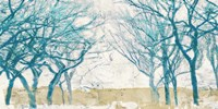 Turquoise Trees Fine Art Print