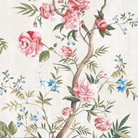 Japanese Silk I Framed Print