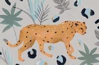 Walking Cheetah I Fine Art Print