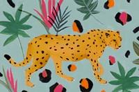 Walking Cheetah II Fine Art Print