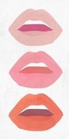 Red Lips II Fine Art Print