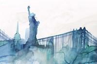 Ocean Blue New York Fine Art Print