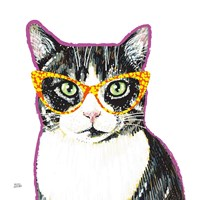 Bespectacled Pet III Fine Art Print