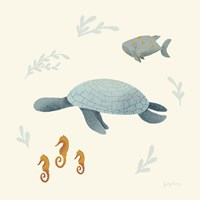 Ocean Life Sea Turtle Fine Art Print