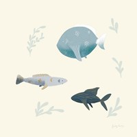 Ocean Life Fish Fine Art Print