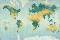 Golden Earth Fine Art Print
