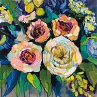 Peony Garden Fine Art Print