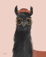 Delightful Alpacas IV Fine Art Print