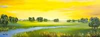 Landscape with River Fine Art Print
