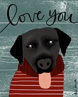 Love You Lab Fine Art Print