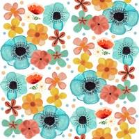 Poppy Pattern Fine Art Print