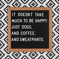 Dogs and Sweatpants Fine Art Print