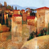 Tuscan Hillside Fine Art Print