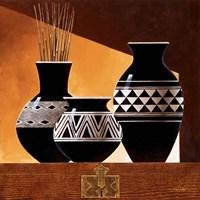 Patterns in Ebony II Fine Art Print