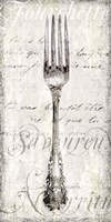 Decorative Fork Fine Art Print