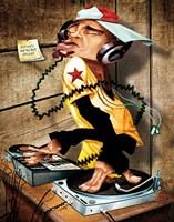 DJ Love Fine Art Print