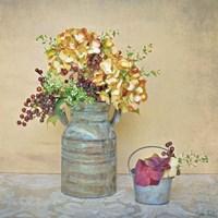Caramel Hydrangeas Fine Art Print