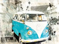 Hippie Van Fine Art Print