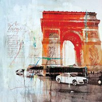 The City of Light II Fine Art Print