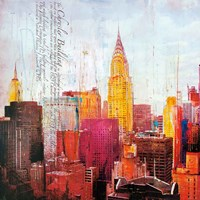 The City That Never Sleeps II Fine Art Print