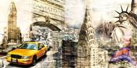 Downtown New York Fine Art Print
