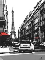 Paris II - Black Fine Art Print