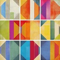 Pattern Tiles II Fine Art Print