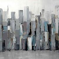 Blue Plaza Fine Art Print
