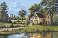 Yellow House Fine Art Print