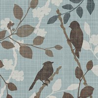 A Sparrow's Garden II Fine Art Print