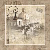 When in Rome Framed Print
