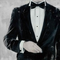 Black Tie Optional Fine Art Print