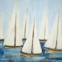 Sailboats Fine Art Print