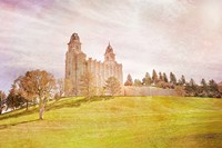 Manti Temple II Fine Art Print