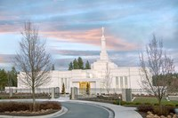 Spokane Temple Fine Art Print