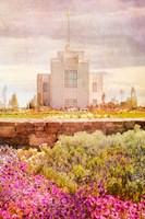 Twin Falls Temple II Fine Art Print