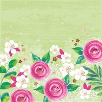 Pink Floral Fine Art Print