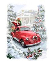 Santa's Ride Fine Art Print