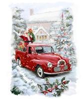 Santa's Ride II Fine Art Print
