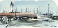 Nautical Scape III Fine Art Print