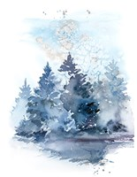 Winter Forest Fine Art Print
