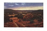 Bandera Valley Sunset Fine Art Print