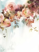 Apricot Roses II Fine Art Print