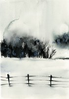 Winter Scape III Fine Art Print