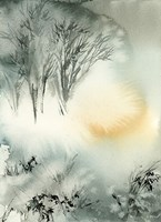 Winter Scape V Fine Art Print